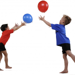Balloons can be great fun at summer camp