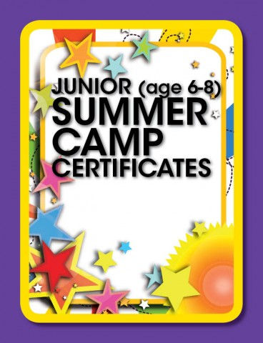 Summer camp certificate template thebeerengine summer camp certificate template yelopaper Image collections