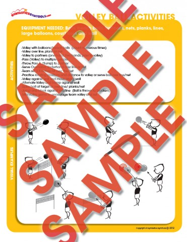 sports  games activity package  gymtastics gymtools